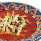 Image of Ancho Tortilla Soup, Back of the Box