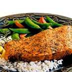 Baked Crusted Salmon Fillet