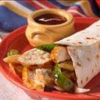 BBQ Chicken Wrap Sandwiches