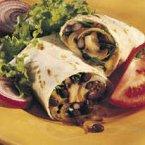 Bean and Veggie Wrap