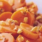 Carrots With Maple-Pecan Sauce
