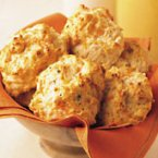 Cheddar & Roasted Garlic Biscuits