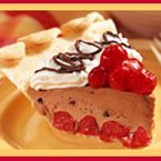 Cherry Chocolate Mousse Pie