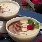 Chocolate and Vanilla Swirl Pudding