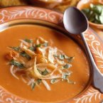 Crispy Tortilla Soup