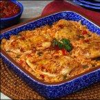 Fiesta Chicken & Rice Bake
