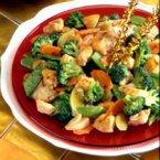 First Moon Chicken Stir-Fry