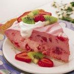 Fluffy Strawberry Pie