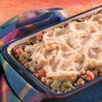 Garlic Mashed Potatoes & Beef Bake