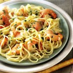 Garlic Shrimp & Pasta
