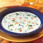 Garlicky Potato Leek Soup