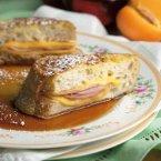 Ham & Cheese Stuffed French Toast