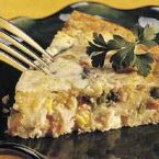 Impossibly Easy Turkey-Ranch Pie