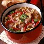 Italian Meatball & Noodle Soup