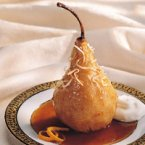 Maple-Sauced Pears