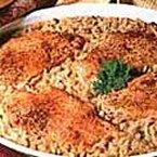 One-Dish Chicken & Rice Bake