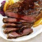Orange-Glazed Steak