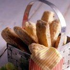 Parmesan Bacon Biscuit Sticks