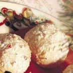 Peppermint Snowball Cookies