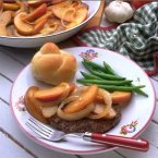 Pork with Apples & Onion
