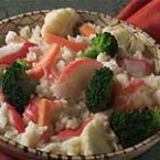 Crab and Rice Primavera