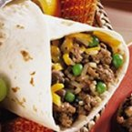 Rice and Hamburger Wraps