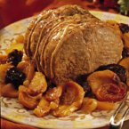 Roast Pork with Fruit