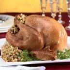 Roast Turkey with Sausage Stuffing