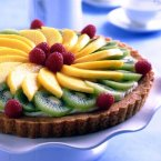 Spring Fruit Tart