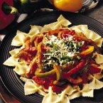 Three-Pepper Pasta