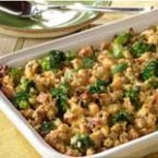 Vegetable & Stuffing Bake