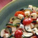 Zucchini & Tomatoes with Cheese